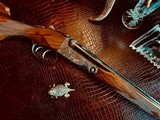 """Parker Repro DHE - 28ga - 28"""" & 26"""" - M/F & IC/M - 99% Condition - Double Trigger - Skeleton Buttplate - Pistol Grip - Beavertail Forend - 9 of 25"""