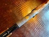 Browning Trombone Rimfire - .22LR - Angelo Bee Upgrade - Ultra Deep Relief Engraving - Predator Small Game Scene - Ornate Scroll - 99% - 12 of 24
