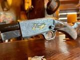 Browning Belgium Trombone Premium Upgrade - 22L - Turkish Grade V Stock & Forend - Angelo Bee Deep Relief Premium Engraving - 12 of 24