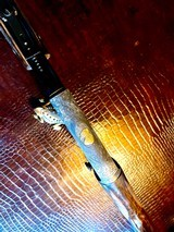 Browning Belgium Trombone Premium Upgrade - 22L - Turkish Grade V Stock & Forend - Angelo Bee Deep Relief Premium Engraving - 9 of 24