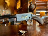 Browning Belgium Trombone Premium Upgrade - 22L - Turkish Grade V Stock & Forend - Angelo Bee Deep Relief Premium Engraving - 6 of 24