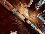 "Winchester Model 21 Custom Grade #4 - 410ga - 26"" - IC/M - Lightened Frame - Jeweled Flats & Action - Highest Grade Black Walnut - 99% Condition - 4 of 25"