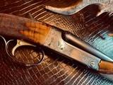 "Winchester Model 21 Custom Grade #4 - 410ga - 26"" - IC/M - Lightened Frame - Jeweled Flats & Action - Highest Grade Black Walnut - 99% Condition - 2 of 25"