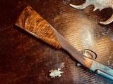 "Winchester Model 21 Custom Grade #4 - 410ga - 26"" - IC/M - Lightened Frame - Jeweled Flats & Action - Highest Grade Black Walnut - 99% Condition - 12 of 25"