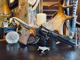 """Colt Python .357 Magnum - 6"""" - Colt Provenance - Built for Robert """"Bobby"""" Shelton Heir and President of The King Ranch - Grifnee & Delcour Engraved - 6 of 21"""