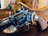 """Colt Python .357 Magnum - 6"""" - Colt Provenance - Built for Robert """"Bobby"""" Shelton Heir and President of The King Ranch - Grifnee & Delcour Engraved - 14 of 21"""