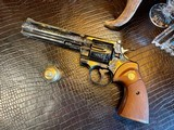 """Colt Python .357 Magnum - 6"""" - Colt Provenance - Built for Robert """"Bobby"""" Shelton Heir and President of The King Ranch - Grifnee & Delcour Engraved - 16 of 21"""