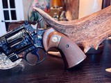 """Colt Python .357 Magnum - 6"""" - Colt Provenance - Built for Robert """"Bobby"""" Shelton Heir and President of The King Ranch - Grifnee & Delcour Engraved - 20 of 21"""