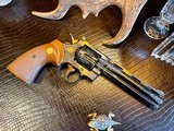 """Colt Python .357 Magnum - 6"""" - Colt Provenance - Built for Robert """"Bobby"""" Shelton Heir and President of The King Ranch - Grifnee & Delcour Engraved - 13 of 21"""