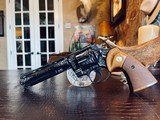 """Colt Python .357 Magnum - 6"""" - Colt Provenance - Built for Robert """"Bobby"""" Shelton Heir and President of The King Ranch - Grifnee & Delcour Engraved - 3 of 21"""
