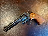 """Colt Python .357 Magnum - 6"""" - Colt Provenance - Built for Robert """"Bobby"""" Shelton Heir and President of The King Ranch - Grifnee & Delcour Engraved - 17 of 21"""