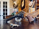 """Colt Python .357 Magnum - 6"""" - Colt Provenance - Built for Robert """"Bobby"""" Shelton Heir and President of The King Ranch - Grifnee & Delcour Engraved - 4 of 21"""
