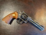 """Colt Python .357 Magnum - 6"""" - Colt Provenance - Built for Robert """"Bobby"""" Shelton Heir and President of The King Ranch - Grifnee & Delcour Engraved - 11 of 21"""