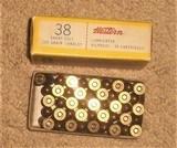 Winchester Western .38 Short Colt Ammunition