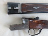 Charles Hellis & Sons Two Inch 12 gauge London Box Lock Ejector SxS Game Gun - 3 of 15
