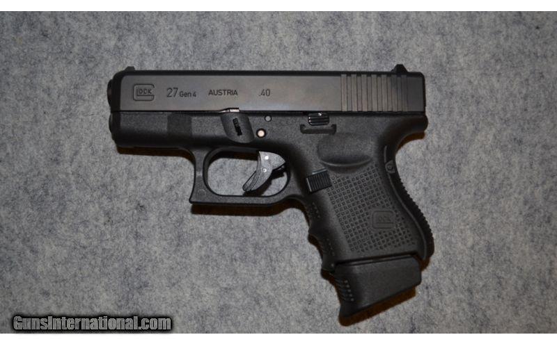 Glock 27 Gen 4 ~  40 S&W /  22 LR