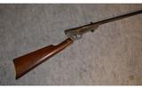 Quackenbush Safety Cartridge Rifle ~ .22 Long Rifle