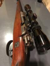 Mauser with case coloring and engraved with German Natzi eagle - 14 of 15