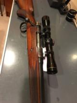 Mauser with case coloring and engraved with German Natzi eagle - 12 of 15
