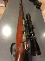 Mauser with case coloring and engraved with German Natzi eagle - 10 of 15