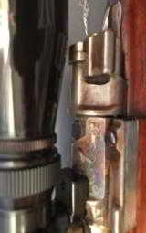 Mauser with case coloring and engraved with German Natzi eagle - 4 of 15