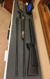 Blaser R93 with two barrels 300 win mag/375, two muzzle break, Professional stock, Swarovski Scope, and case - 2 of 14