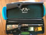 Blaser R93 with two barrels 300 win mag/375, two muzzle break, Professional stock, Swarovski Scope, and case - 1 of 14