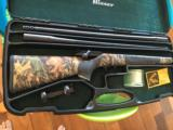 Blaser R93 with two barrels 300 win mag/375, two muzzle break, Professional stock, Swarovski Scope, and case - 10 of 14