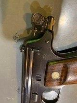 S&W STRAIGHT LINE SINGLE SHOT TARGET PISTOL, 10 inch barrel, 4 digit serial number 1088 - 4 of 13