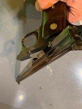 S&W STRAIGHT LINE SINGLE SHOT TARGET PISTOL, 10 inch barrel, 4 digit serial number 1088 - 6 of 13