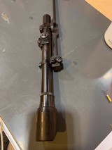 US M1/M3 .30 Carbine Sniper Scope Mounting Bar & Barrel Block and scope - 6 of 13
