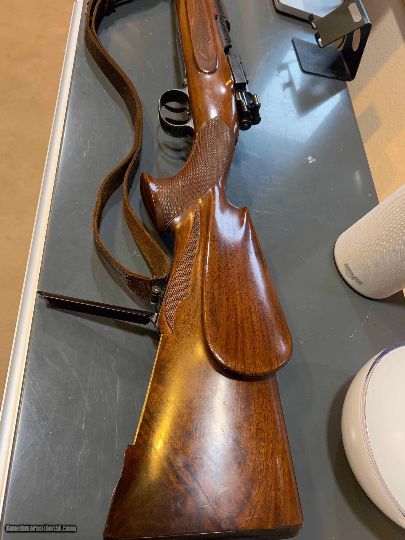 Mauser 8X57, palm swell, shot gun ridge, very unique gun