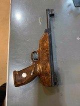 H. WEIHRAUCH, SPORTWAFFENEFABRIK, MELLRICHSIAUI Air Pistol, HW70 4.5 caliber, very rare