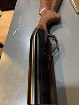 Benelli 20 Guage ultra light with carbon fiber ridge 24-26 inch barrel, shot very few rounds, multi chokes box and shims - 7 of 12