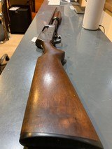 Ward's Western Field Model 30-SB562A, US flaming Bump marked, pump, quick release to two parts, 19 inch barrel, very good condition, chamber indic - 5 of 11