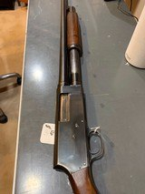 Ward's Western Field Model 30-SB562A, US flaming Bump marked, pump, quick release to two parts, 19 inch barrel, very good condition, chamber indic - 6 of 11