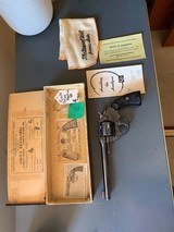 Hi condition colt 38 police positive with box, 6 inch barel