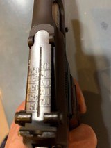Fn Browning Hi-power with Tangent Site and hard case that attach to the pistol, 9 mm, in perfect shape - 2 of 17