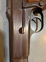 Fn Browning Hi-power with Tangent Site and hard case that attach to the pistol, 9 mm, in perfect shape - 13 of 17