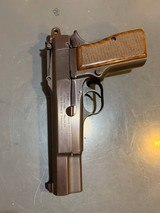Fn Browning Hi-power with Tangent Site and hard case that attach to the pistol, 9 mm, in perfect shape - 14 of 17