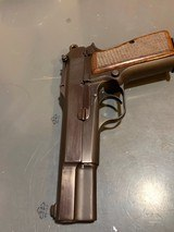 Fn Browning Hi-power with Tangent Site and hard case that attach to the pistol, 9 mm, in perfect shape - 1 of 17