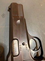 Fn Browning Hi-power with Tangent Site and hard case that attach to the pistol, 9 mm, in perfect shape - 6 of 17