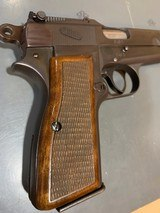 Fn Browning Hi-power with Tangent Site and hard case that attach to the pistol, 9 mm, in perfect shape - 5 of 17
