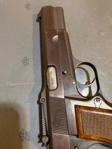 Browning Hi power with Tangent site and opening for wooden stock attachmentin perfect shape - 11 of 14