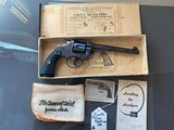 Colt police positive 38, in perfect shape with a very interesting history, box and few inserts