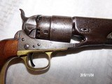 Model 1860 colt army early 4 screw revolver - 6 of 8