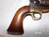 Model 1860 colt army early 4 screw revolver - 7 of 8