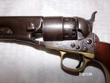 Model 1860 colt army early 4 screw revolver - 3 of 8
