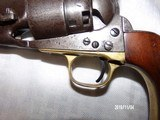 Model 1860 colt army early 4 screw revolver - 8 of 8