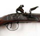18th Century Flintlock English Officer's Pistol Mitchell & Co. London - 3 of 6